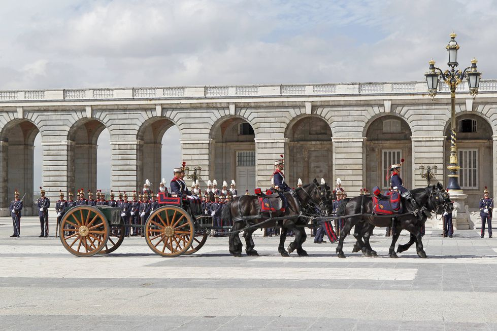 Cambio de Guardia en el «Palacio Real en Madrid»